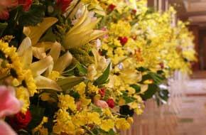 スタンド花の贈り方