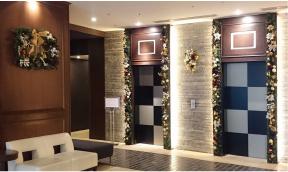 ホテル施設の空間装飾